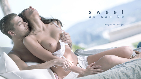Flawless girl Angelica Saige has sex on camera at babes.com
