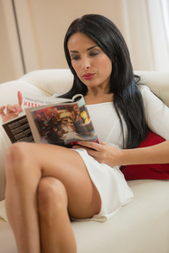 Hot babe Anissa Kate in erotic picture