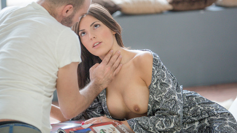 Flawless girl Cecilia De Lys has sex on camera at babes.com