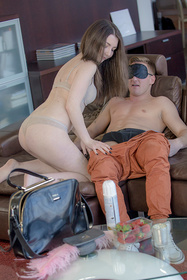 Hot babe Amy White, Marta LaCroft in erotic picture