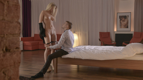 Flawless girl Jessi Gold has sex on camera at babes.com