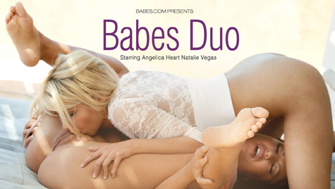 Flawless girl Natalie Vegas has sex on camera at babes.com