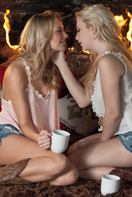 Hot babe Samantha Rone, Kenna James in erotic picture