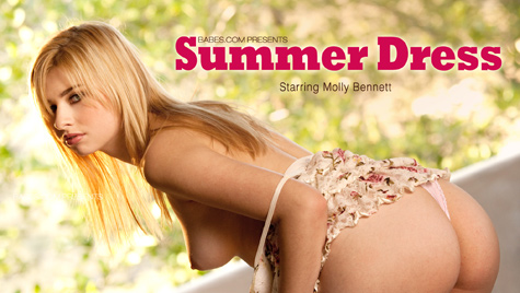 Flawless girl Molly Bennett has sex on camera at babes.com