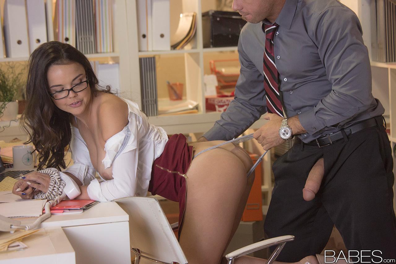 Babes office obsession chad white and nina north a run 2