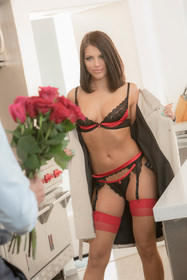 Hot babe Adriana Chechik in erotic picture