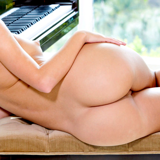 Busty babe The Piano Lesson in best HD porn site