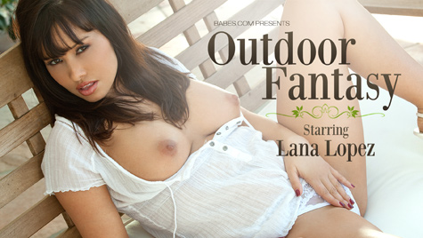 Flawless girl Lana Lopez has sex on camera at babes.com