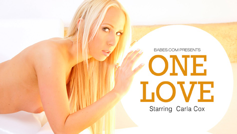 Flawless girl Carla Cox has sex on camera at babes.com