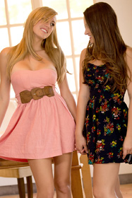 Hot babe Brett Rossi, Dani Daniels in erotic picture