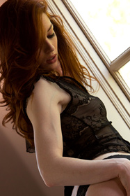 Hot babe Stoya in erotic picture