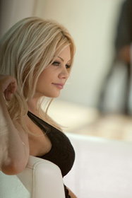 Hot babe Riley Steele in erotic picture