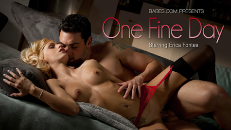 Flawless girl Erica Fontes has sex on camera at babes.com