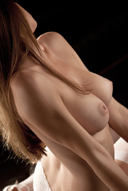 Amber Sym in glamcore porn video