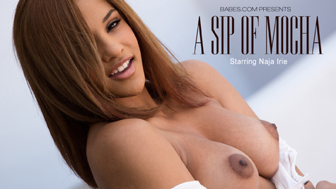 Flawless girl Naja Irie has sex on camera at babes.com