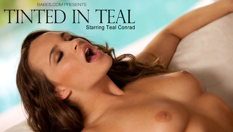 Flawless girl Teal Conrad has sex on camera at babes.com