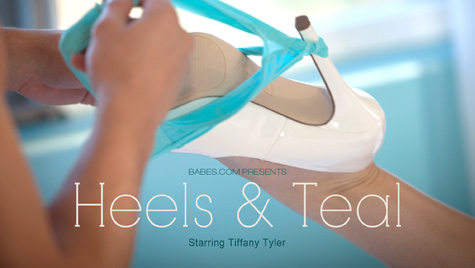 Flawless girl Tiffany Tyler has sex on camera at babes.com