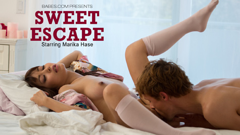 Flawless girl Marica Hase has sex on camera at babes.com