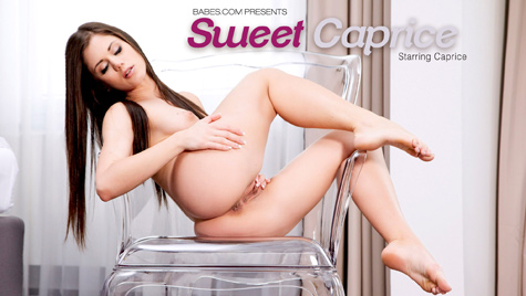 Flawless girl Caprice has sex on camera at babes.com