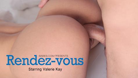 Flawless girl Valerie Kay has sex on camera at babes.com