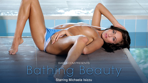 Flawless girl Michaela Isizzu has sex on camera at babes.com