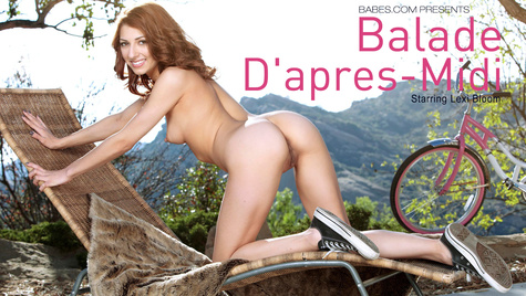 Flawless girl Lexi Bloom has sex on camera at babes.com