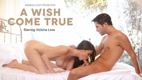 Flawless girl Victoria Love has sex on camera at babes.com