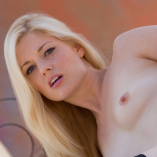Beautiful Charlotte Stokely poses nude in porn pics